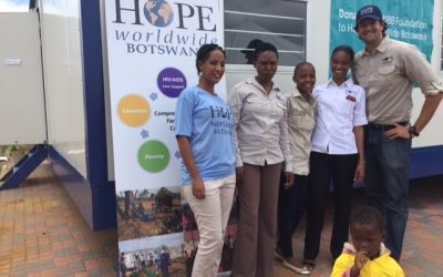 New Children's Center for HOPE worldwide Botswana